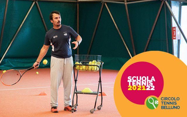 Sono aperte le iscrizioni per la Scuola Tennis, dal 1 agosto!